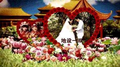 AE皇宫古典婚礼视频模板素材