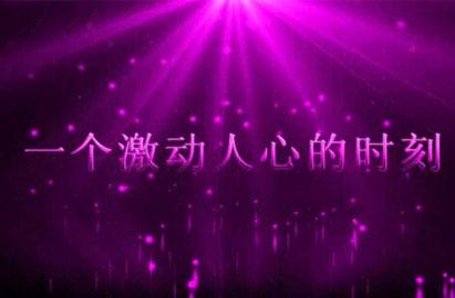 AE紫色超震撼婚礼开场片头视频模板