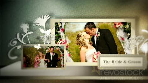 AE国外相册婚礼模板 高清国外电子相册源文件