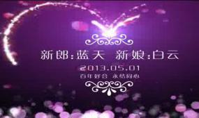 AE高清婚礼开场预告LOGO版