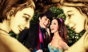 AE沙画浪漫夜景婚礼视频模板素材