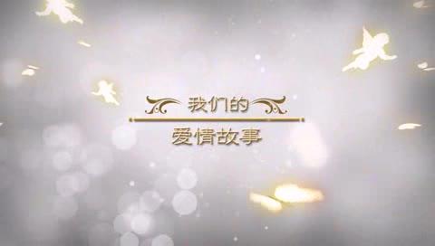 AE小天使绽放婚礼视频模板