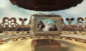 AE高清唯美3D婚礼开场视频模板