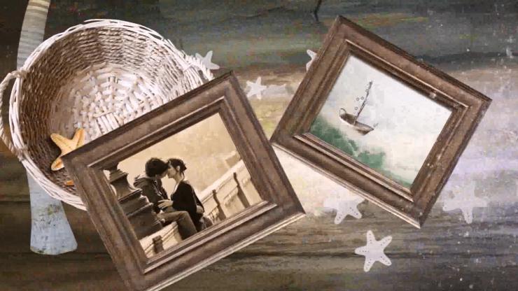 AE海底星星婚礼视频模板