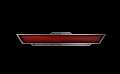 AE深红色金属字幕条模板