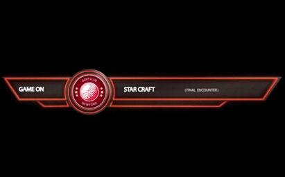 AE红色线框式动画字幕条模板