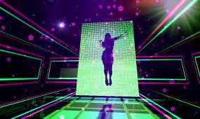 超动感晚会夜场演出开场LED视频素材