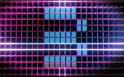 动感舞台3秒倒计时LED视频素材