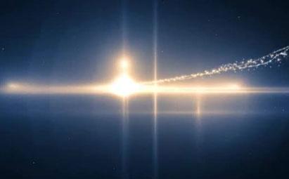 粒子光效晚会开场LED灯光视频素材