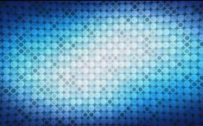 蓝色粒子LED灯光视频素材