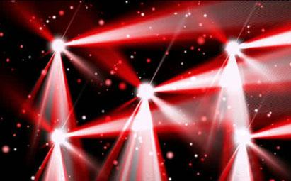 超棒舞台演出摇滚节奏LED灯光视频素材
