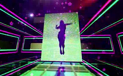 精品超动感节奏晚会演出 LED舞台灯光视频素材