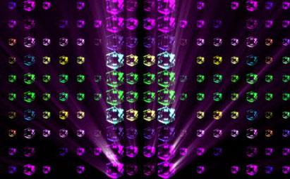 炫丽粒子LED舞台背景素材