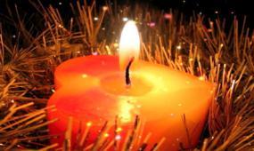 高清生日爱心蜡烛LED视频素材