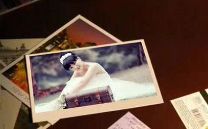 经典婚礼婚庆相框会声会影x6视频模板