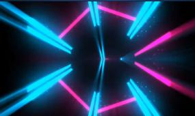 动感光线条LED晚会开场视频素材
