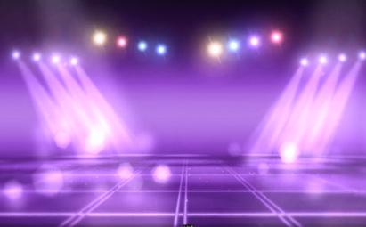 动感舞台灯光照耀、闪耀LED灯光视频素材