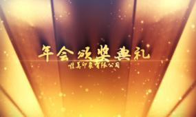 AE企业年会员工颁奖典礼通用视频模板