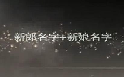 AE淡入淡出唯美婚礼电子相册视频模板