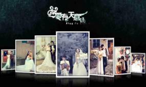浪漫唯美大气开场AE婚礼模板 爱有天意婚礼模板视频模板