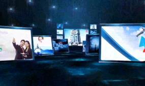 AE2015年大气震撼年会开场空间展示片头视频模板