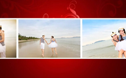 AE唯美婚礼电子相册视频模板