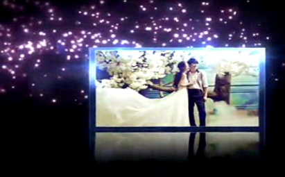 浪漫大气紫色唯美星空爱恋AE视频模板