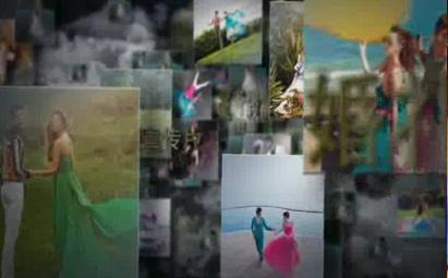 AE震撼婚礼相册视频模板