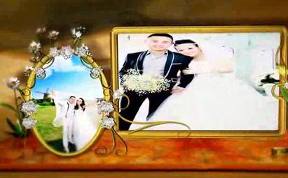 AE3D动画婚礼视频开场片头模板素材
