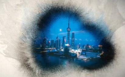 中国风水墨画企业宣传城市宣传ae片头视频