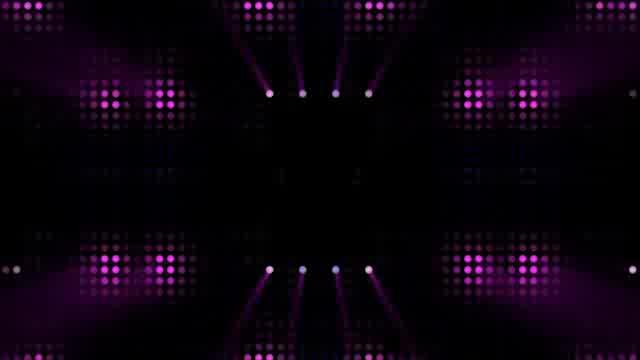 LED动感闪耀灯光视频素材