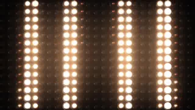 LED幕矩阵灯光视频素材