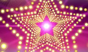 LED五彩炫丽舞台灯光背景视频素材