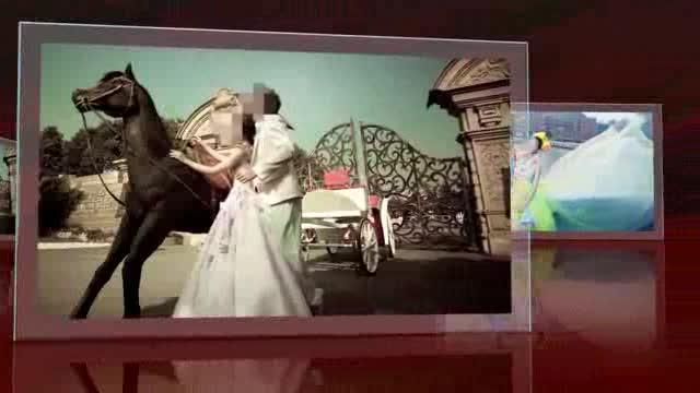AE动感唯美婚纱电子相册视频模板