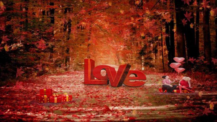 唯美婚礼爱情LOVE视频
