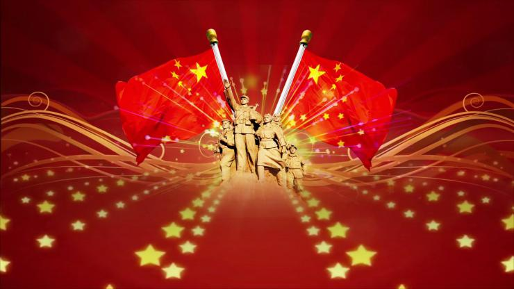 八一建军节背景视频