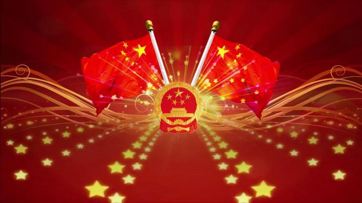 十一国庆节背景视频