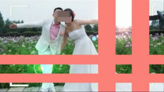 大气摄像机婚礼开场会声会影X6模板