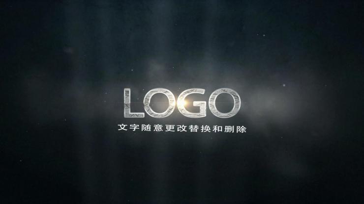 震撼火花LOGO展示AE模板
