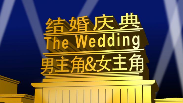 大气电影开场婚礼婚庆AE模板