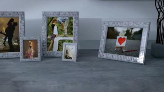 AE浪漫爱情公寓婚礼相框视频模板