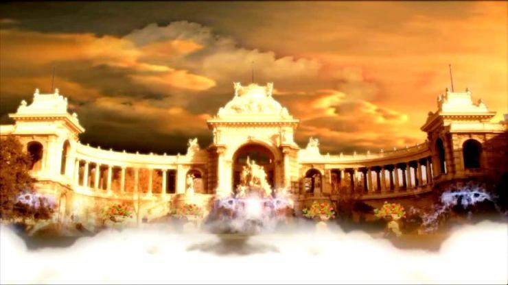 金色宫殿喷泉视频