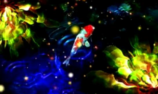 敦煌飞天 仙女仙境梦幻粒子 晚会舞台LED大屏幕素材