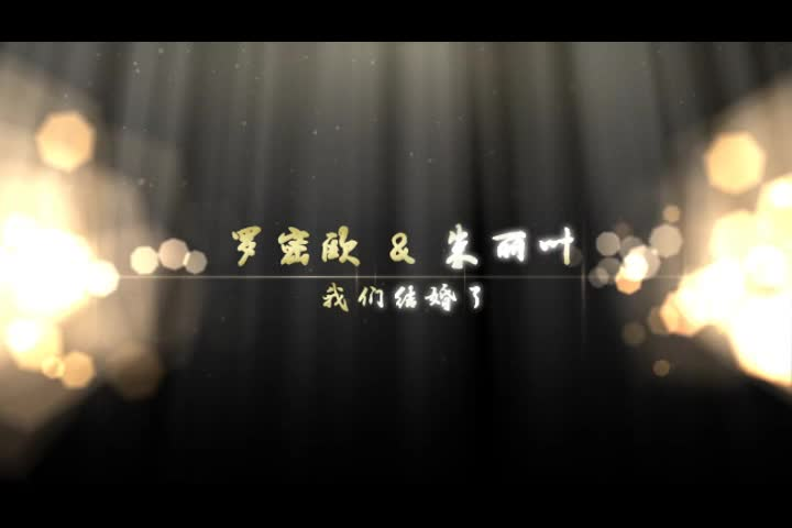 AE唯美婚庆婚礼开场视频模板