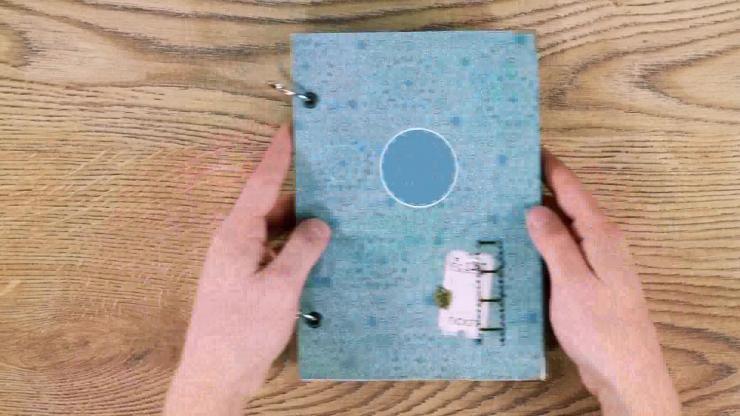 AE爱情故事书本翻页电子相册视频模板