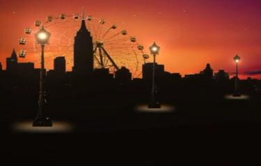 我的好兄弟城市摩天轮LED视频背景素材