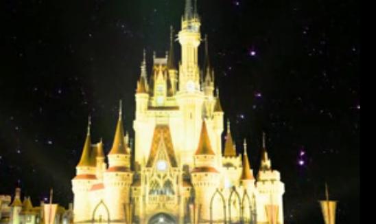 梦幻城堡慢慢升起大气震撼新娘出场婚礼婚庆舞台晚会LED素