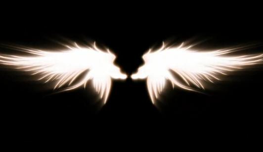 天使的翅膀LED晚会背景视频素材
