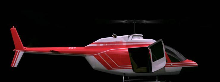 超清3D直升机出场全息婚礼 裸眼3D投影婚礼素材