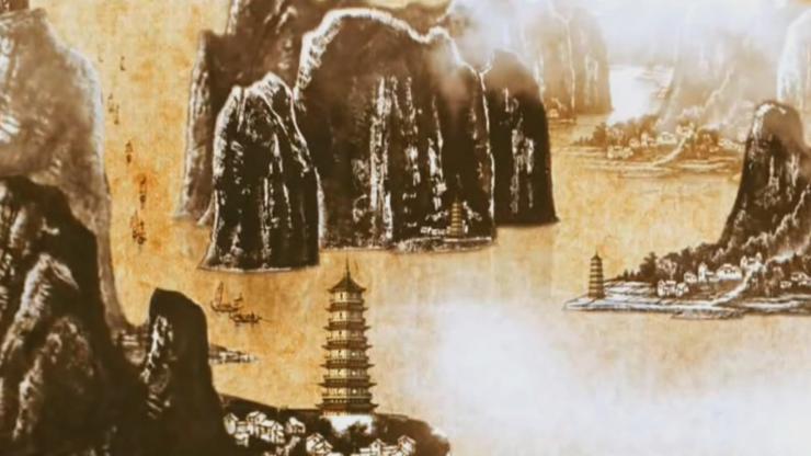 中国水墨山水